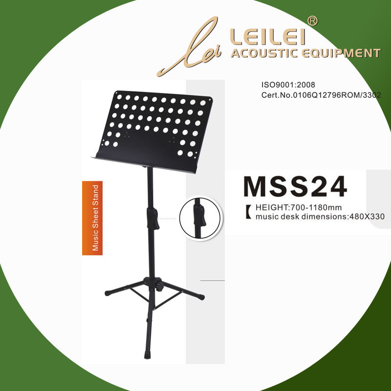 Tripod Base Music Sheet Stand (MSS24)