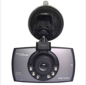 """2.4"""" 120 Degree Wide-Angle Lens Dual Lens Car DVR"""