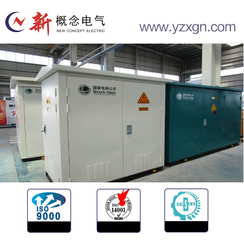 Outdoor Transmission System Box Type Substation