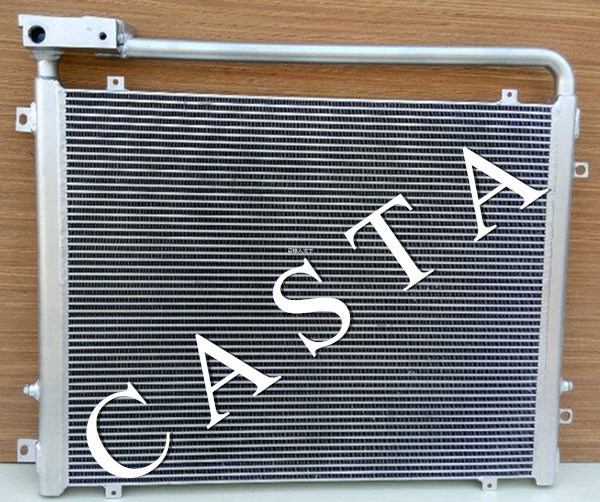 Komatsupc PC200-7 20-03-31121 Excavator Oil Cooler Aluminum Radiator Assy