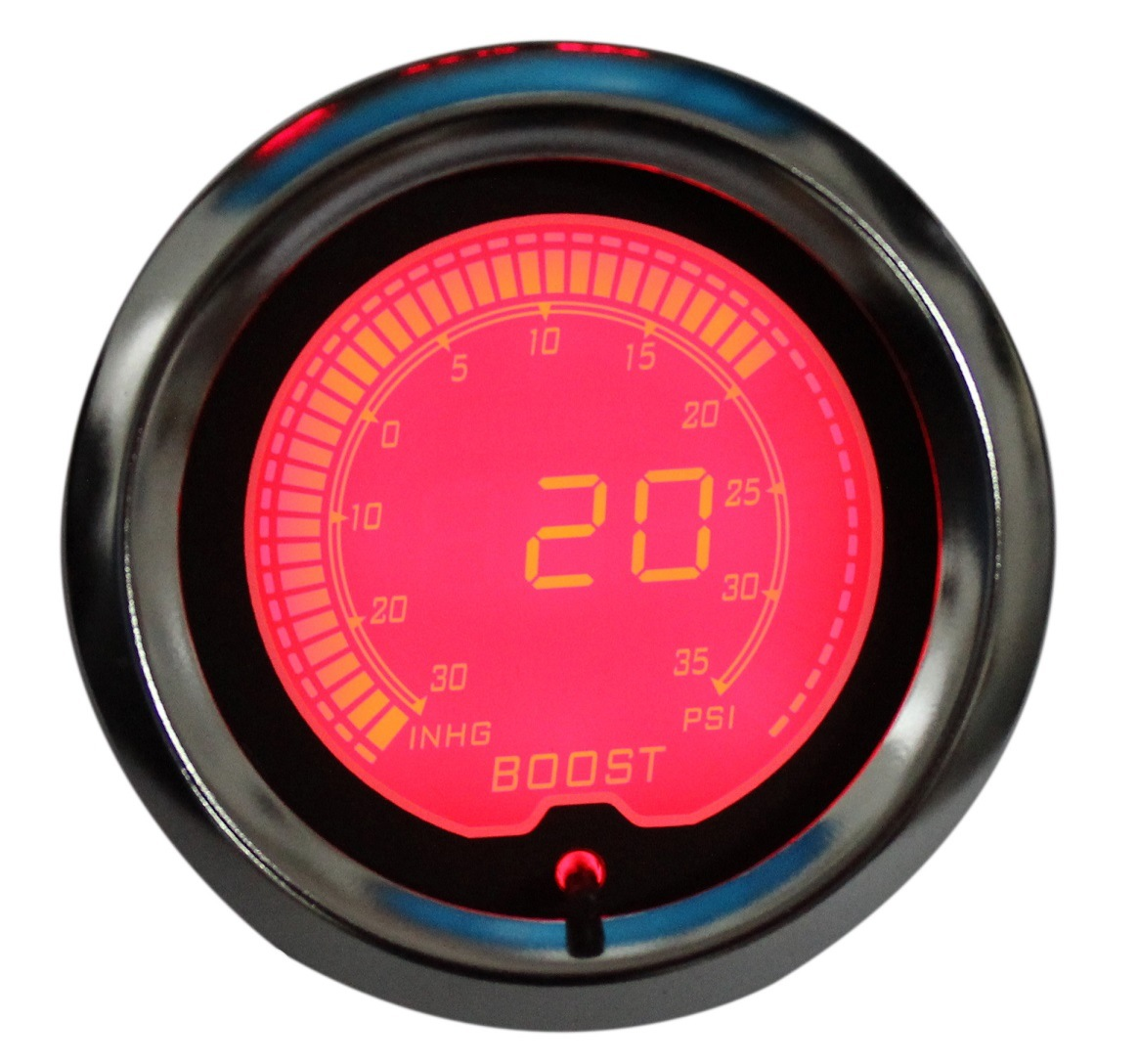 "2"" (52mm) Auto Gauges for 7 Color LCD Digital Gauge (6251-7)"