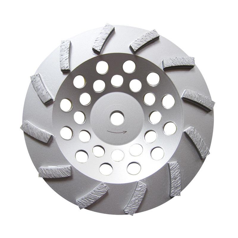 180mm Turbo Segment Diamond Cup Wheel