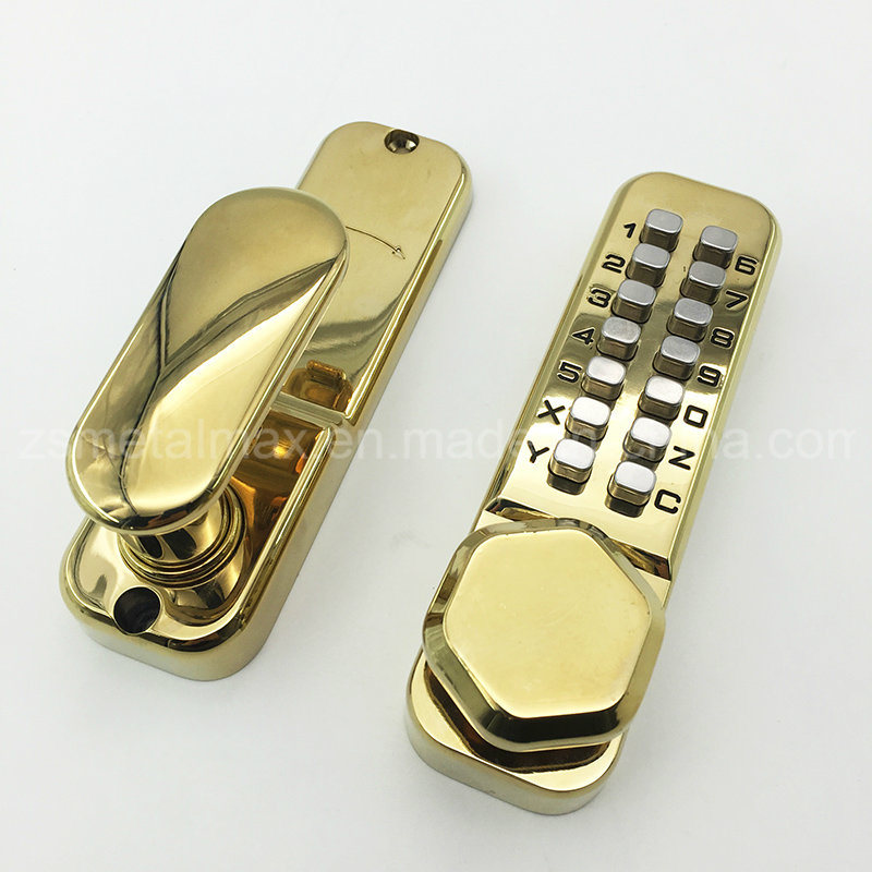 Mechanical Security Push Button Combination Keyless Door Code Lock (ML201)
