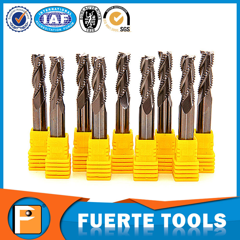 3f Tungsten Carbide Roughing End Mill for Aluminum