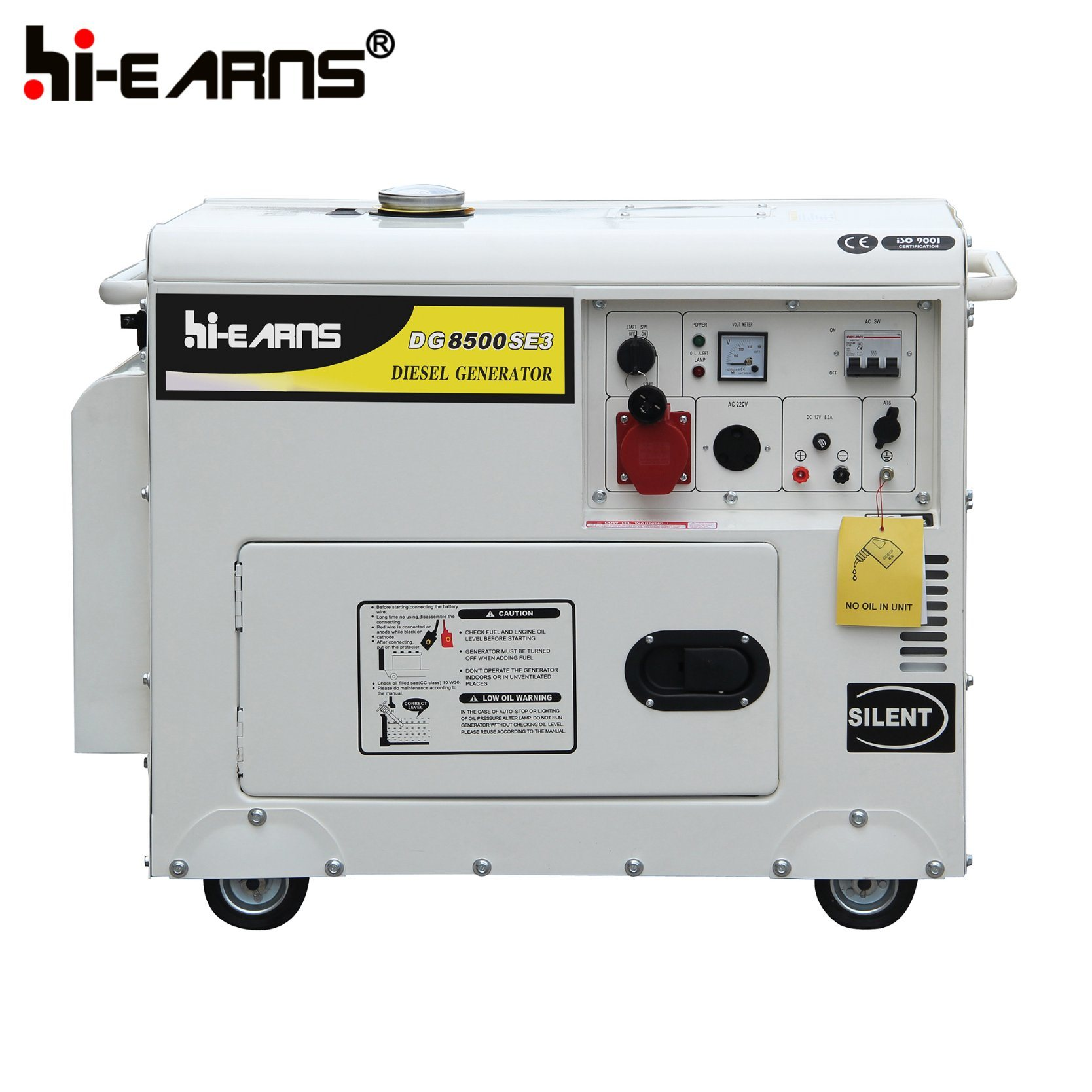 China 6kw Air Cooled Diesel Engine Power Generator Set Price
