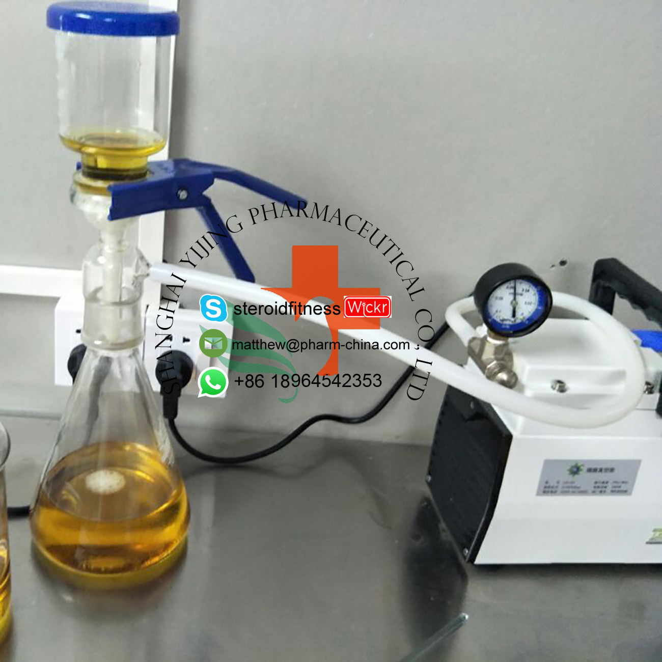 Steroid Oil Tri-Test 300 Liquid Testosterone Enanthate Mixed Injection Steroid