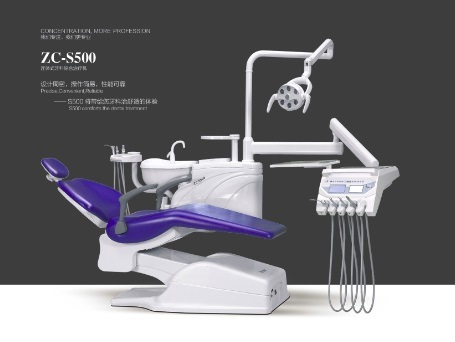 Hot Selling Intergal Dental Unit with Ce Approval (Zc-S500)