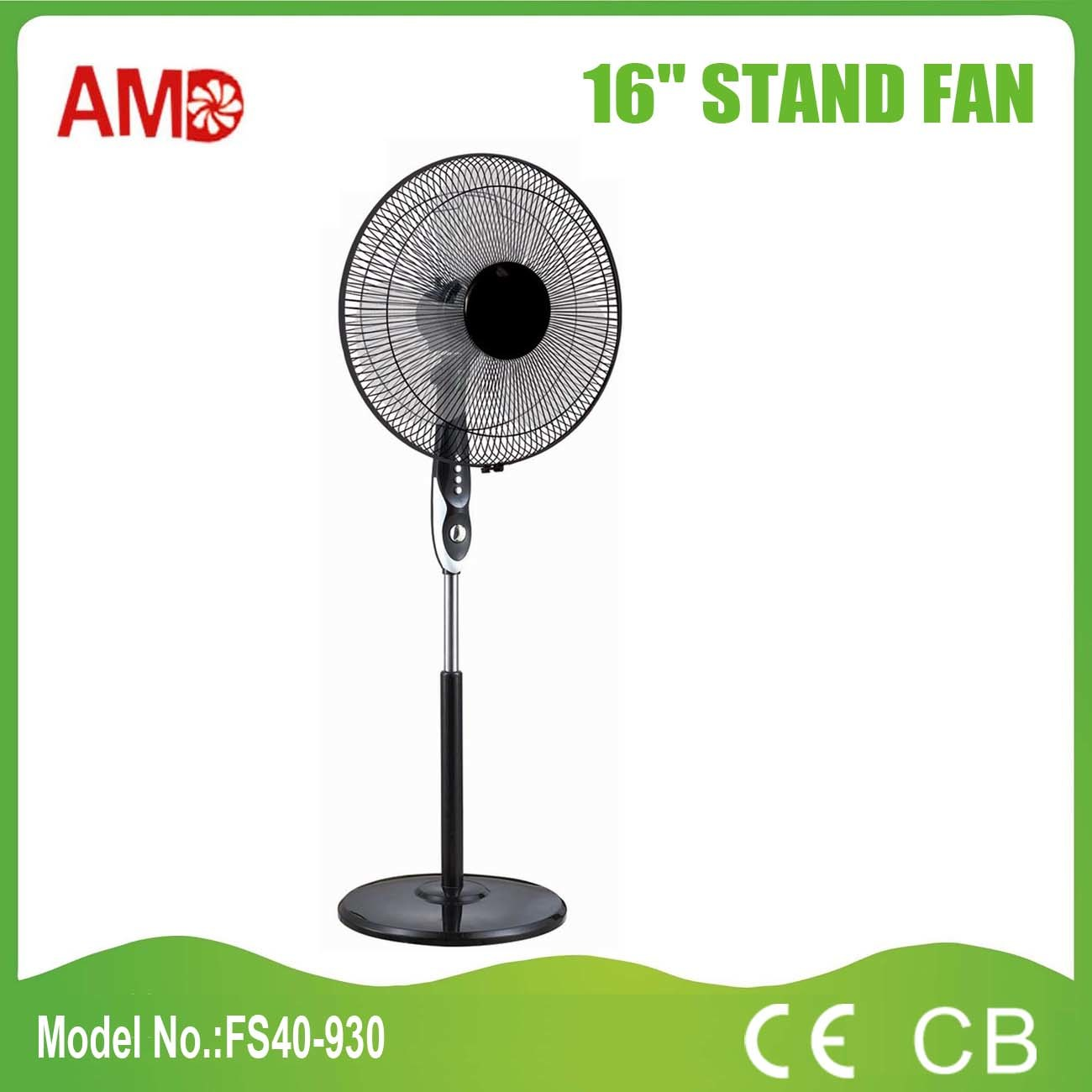 CB Approved Household Electric Stand Fan (FS40-930)