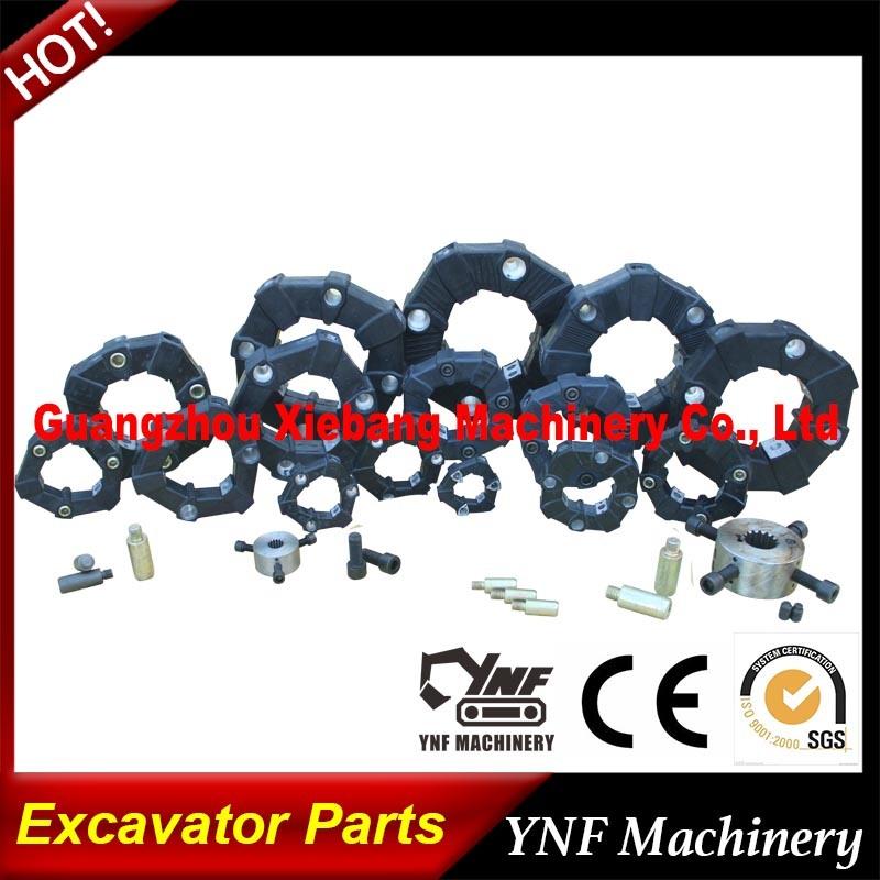 Original Excavator Parts Coupling CF-a Series Rubber Flexible Torsionally Shaft Coupling for Centaflex
