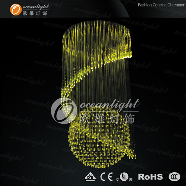 Pendant Lighting Fiber Optic Lighting, Crystal Light Chandelier Lamp (Om951)