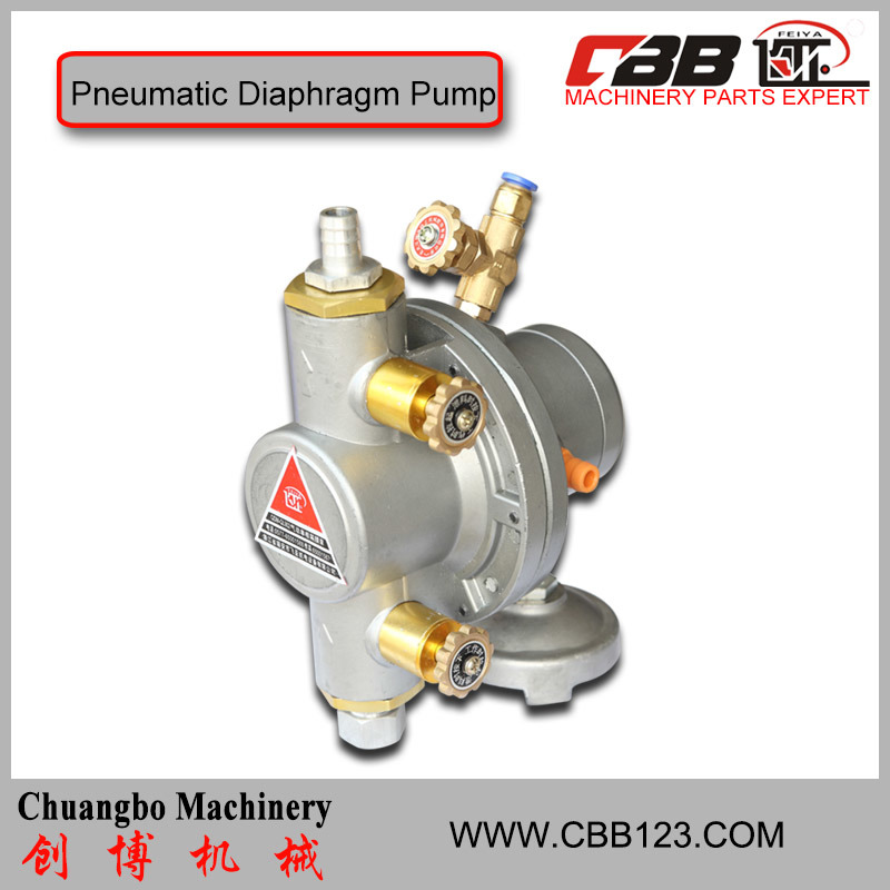 One-Way Pneumatic Diaphragm Pump for Oil Mix