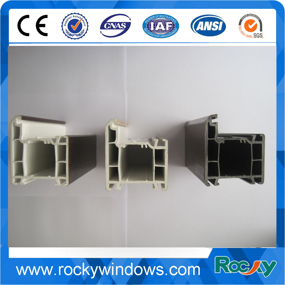 China Factory PVC UPVC Profile for Window and Door