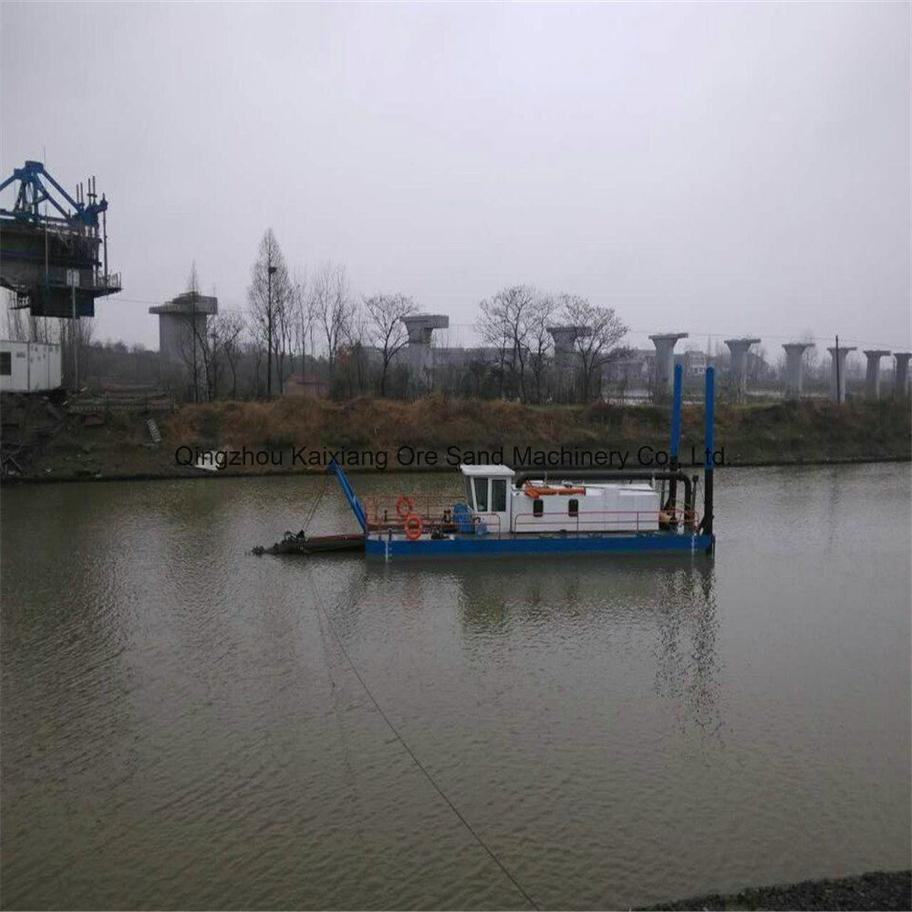 ISO 9001 Cutter Suction Dredger with Big Capacity
