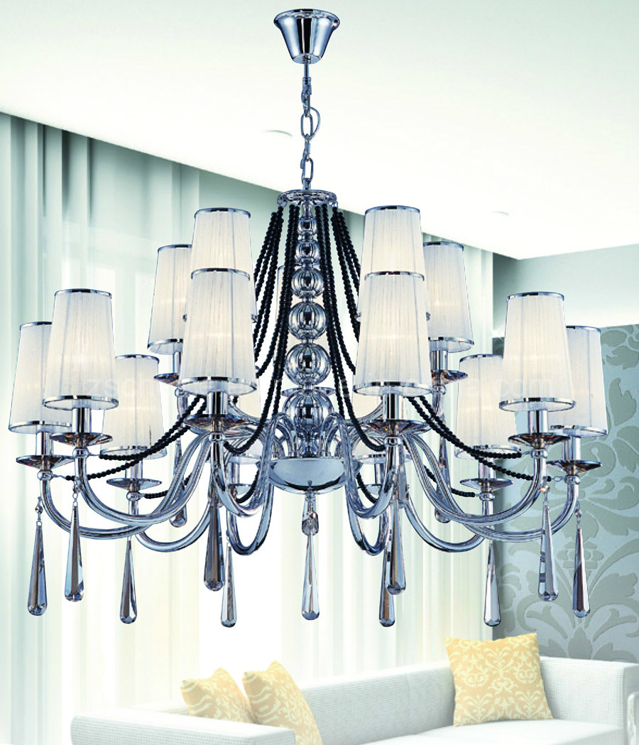 Latest Modern Cloth Hanging Lamp Chandelier (N0 8853-6)