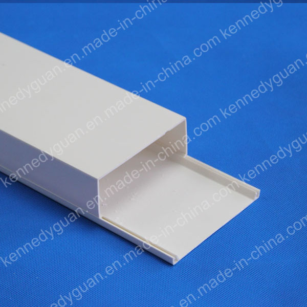 Plastic PVC Trunking Cable Wiring Duct Cable Tray