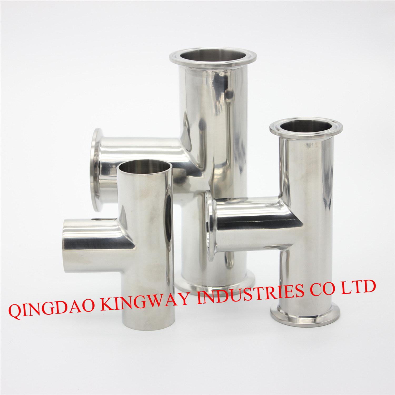 Stainless Steel Sanitary DIN Clamp Tee