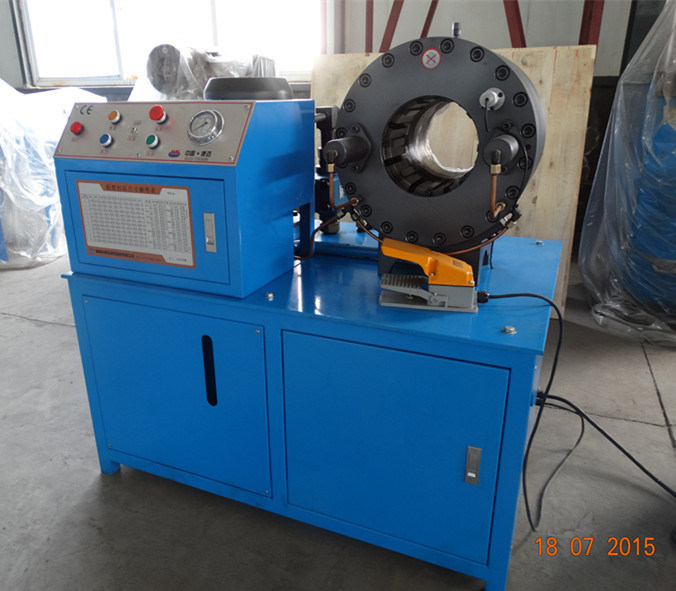 "Hydraulic Pipe Crimping Machine Km-91d for 4"" Hose/Pipe/Tube"