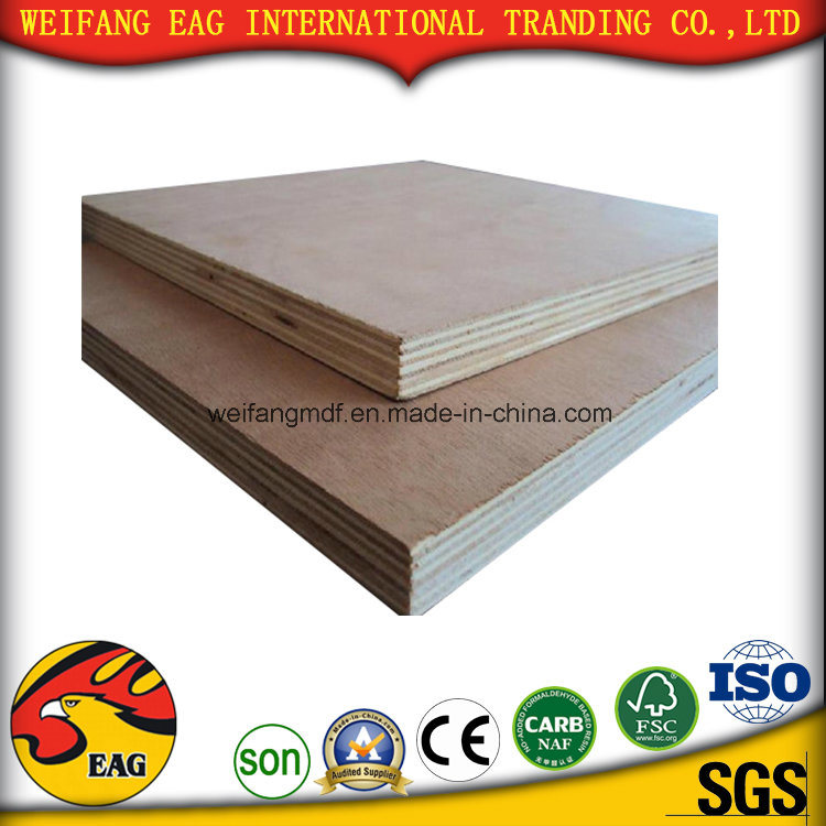 Good Quality 1.2-30mm Red Oak/Okoume/Plb with Compentition Price Plywood