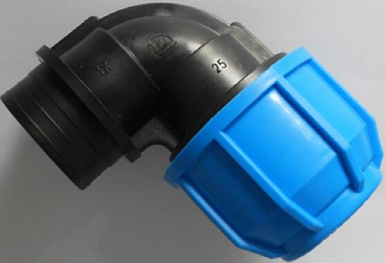 HDPE / PP Irrigation Compression Fitting Female Elbow