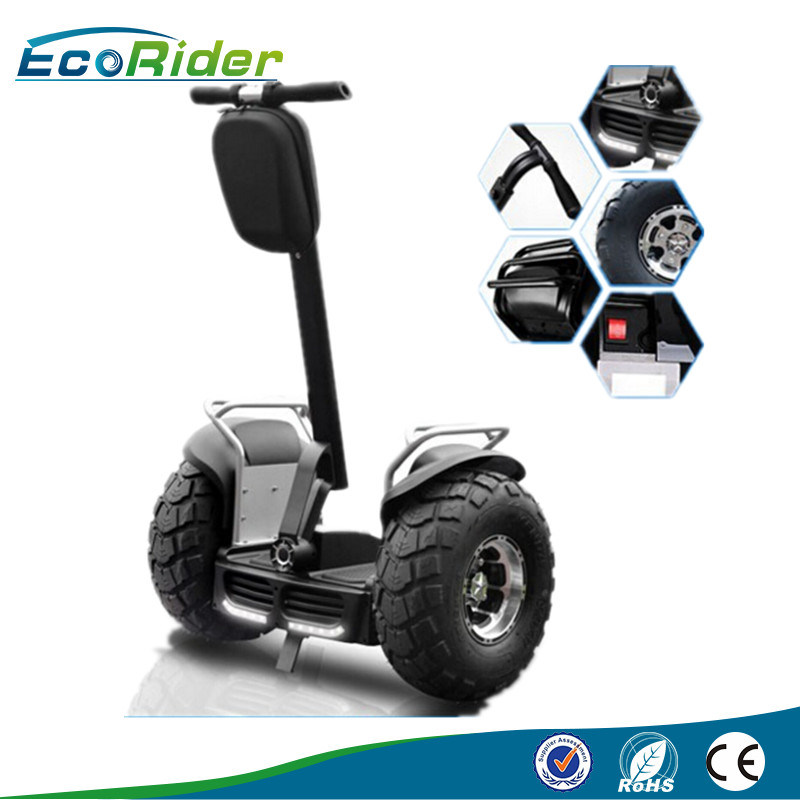 New Products 2016 Li-ion Battery Powered off Road Gyroscope Smart Balance 2 Wheel Electric Chariot Scooter More Stable Than Unicycle