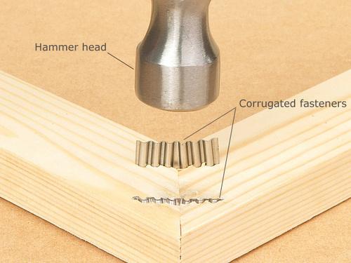 W Series Corrugatd Fasteners W6 W9 W12 Corrugated Nails