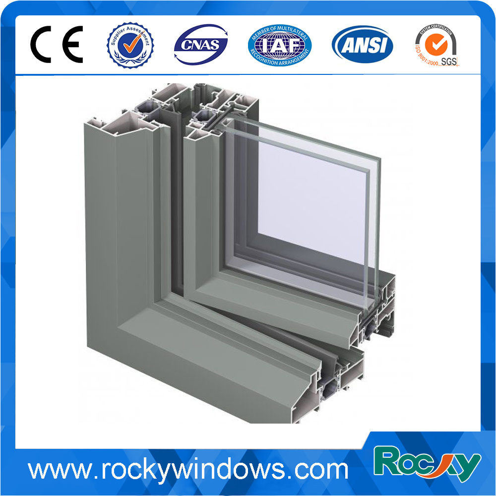 Power Coating Aluminum Extrusion for Windows and Doors /Aluminum Profiles