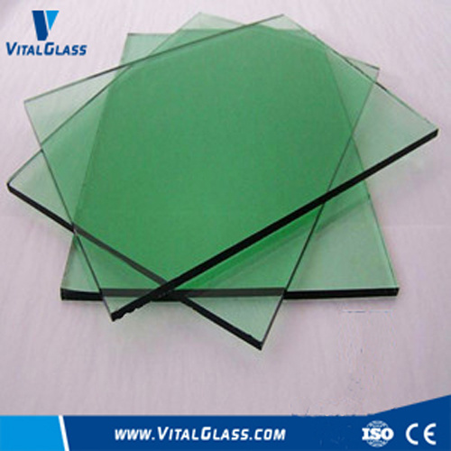 Dark/French Green Float/Reflective Glass/Building Glass with Ce&ISO9001