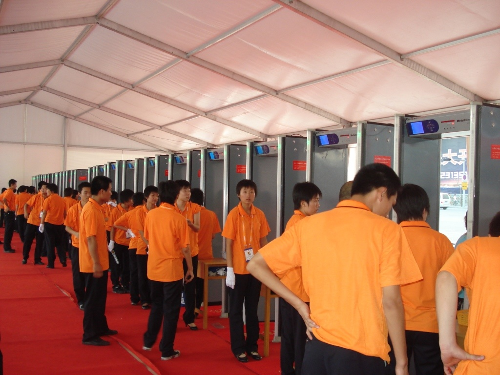 24 Zones Archway Metal Detector for Beijing Olympic Games