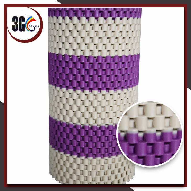 2017 Hot Selling PVC Double Color Anti-Slip Mat (3G-D HALF CHAIN)