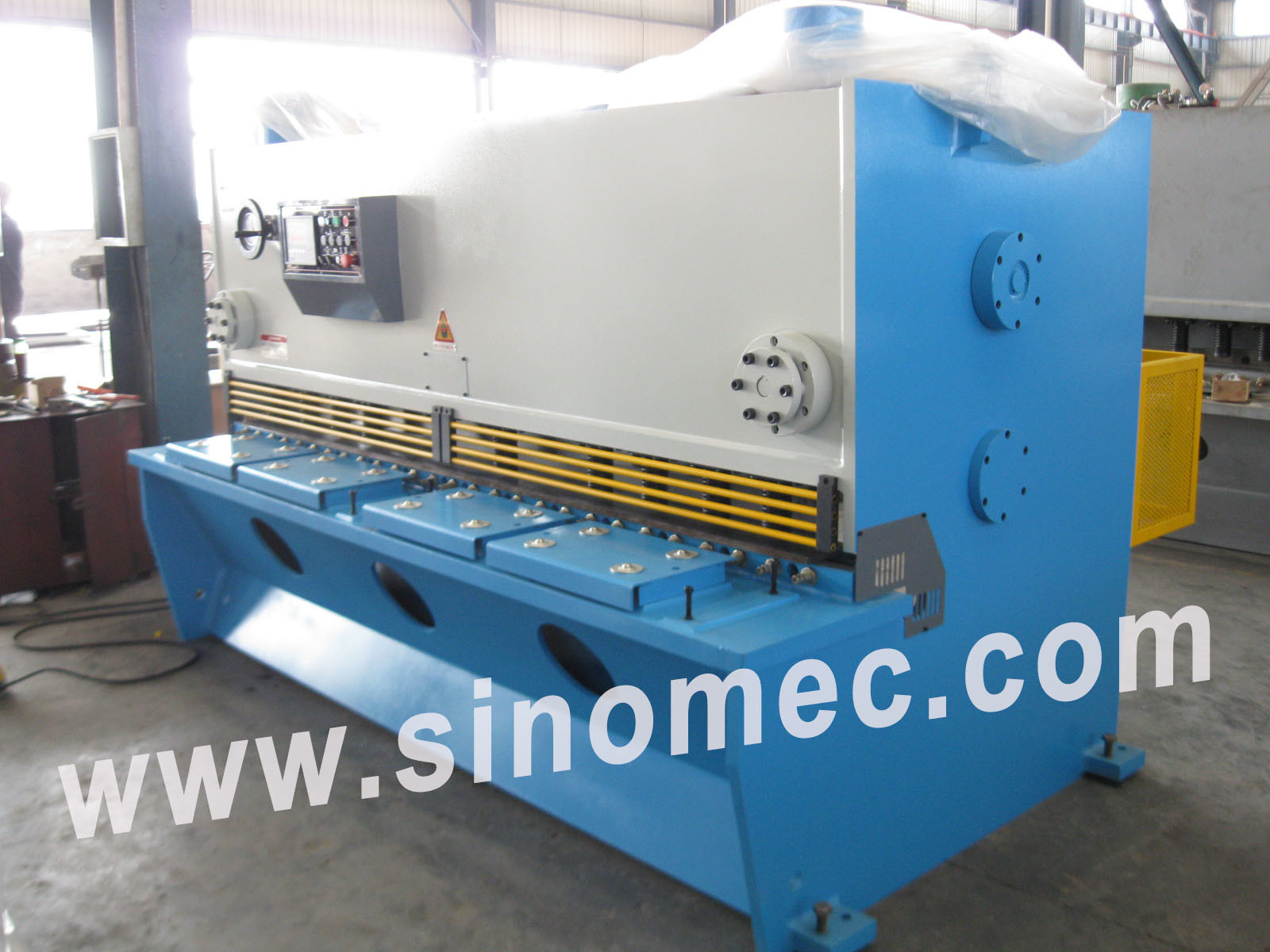 Guillotine Shear Machine / Cutting Machine / Hydraulic Shear Machine QC11y-8X3200