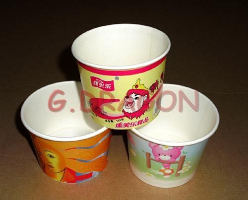 1.5-32 Ounce Hot Beverage Paper Cups and Lids (IC145)