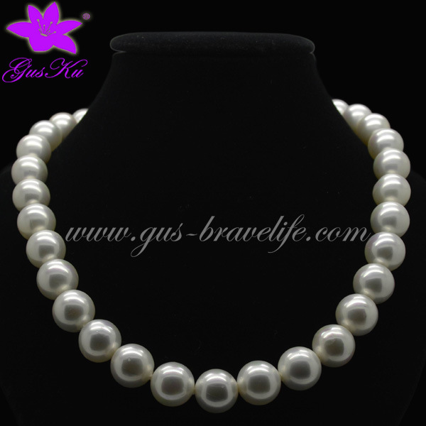 Newest and Fashion Imitation Pearl Jewellery (2015 Gus-Fpn-037)