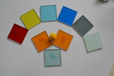 3mm to 6mm Paint Glass/Black Paint Mirror/Coated Glass