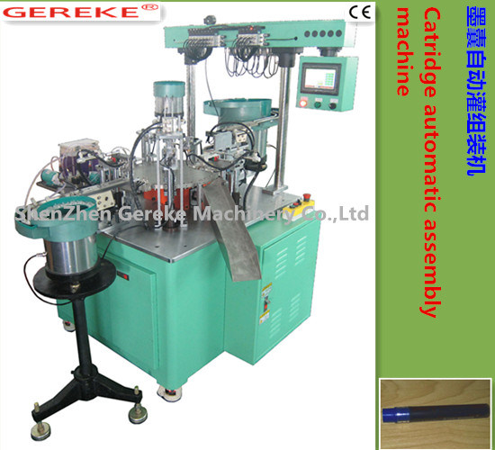Cartridge Automatic Assemly and Filling Machine