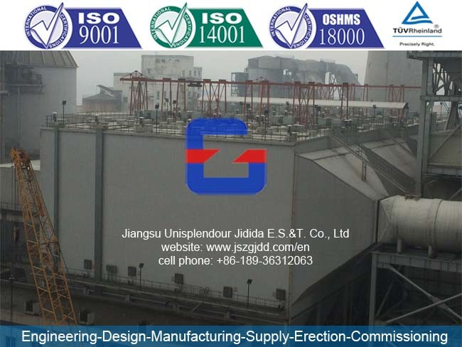 Jdw 4X12 Electrostatic Precipitator for 2X15MW Power Plant