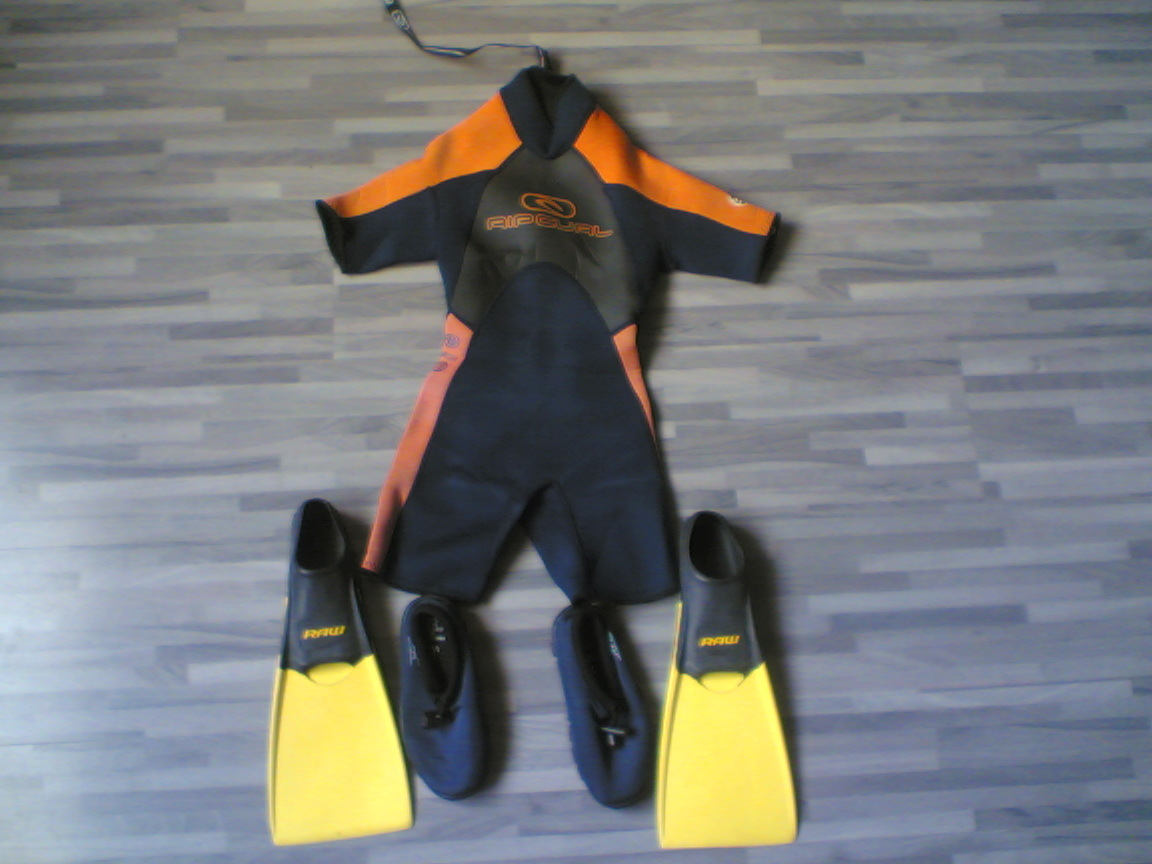 Design Neoprene Shorty Children Wetsuit