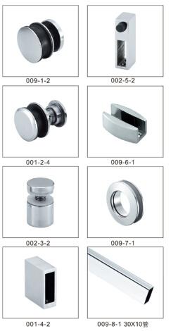 Stainless Steel Hinge Door Hardware Bathroom Accessories