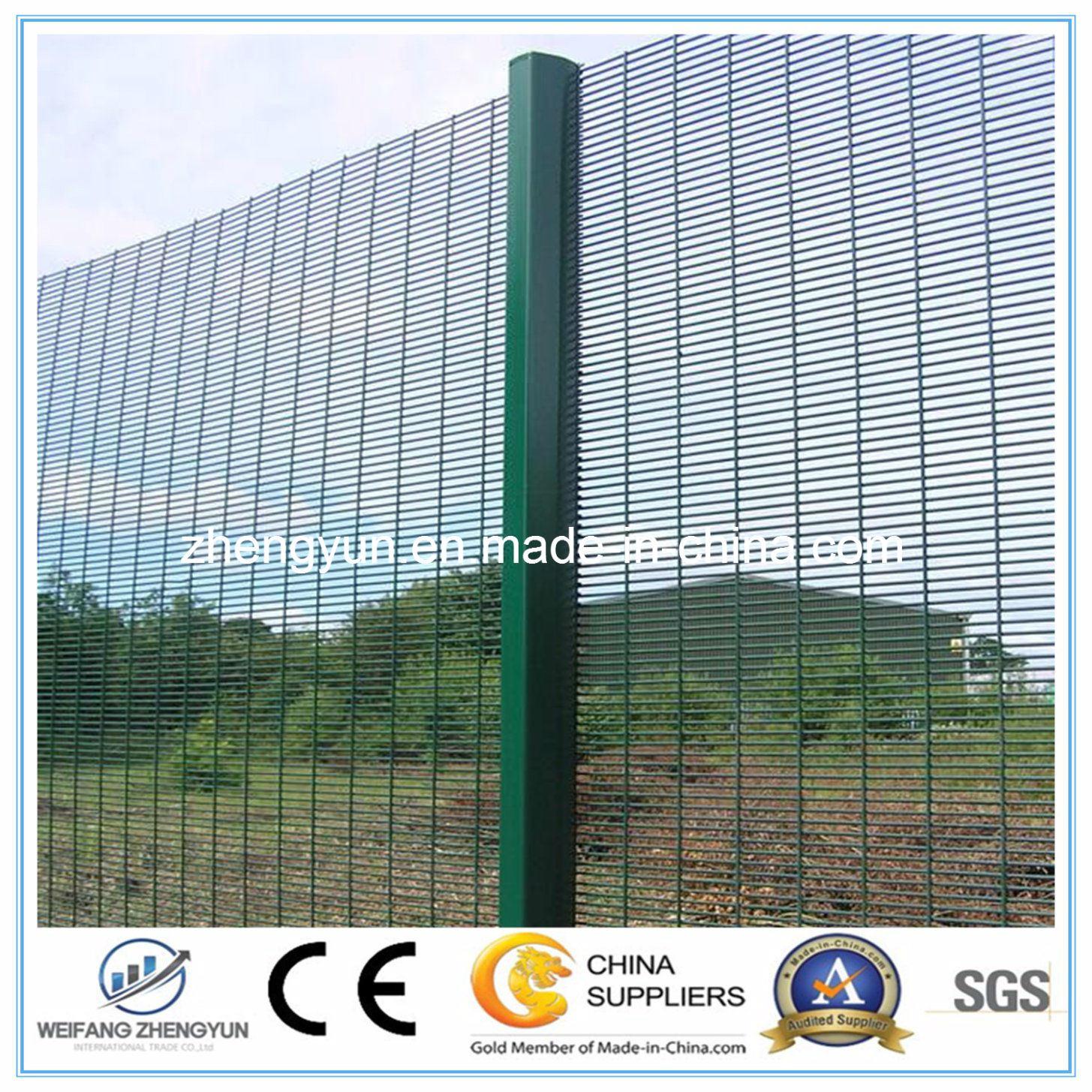 Anti Climb 358 High Security Fencing System Cheap Clear Vu Fence
