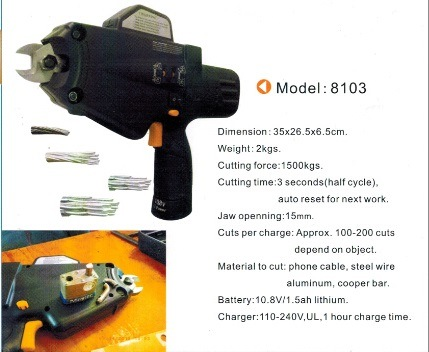 Power Steel Wire Cutter for Hard Steel Wire and Cable