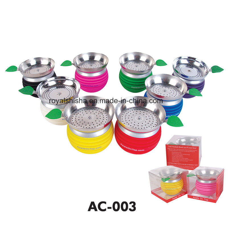 Hot Selling Wholesale Hookah Accessories Charcoal Holder Silicone Music Bowl