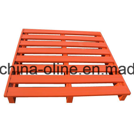 Galvanized Strong Steel Metal Pallet Match with Lifts