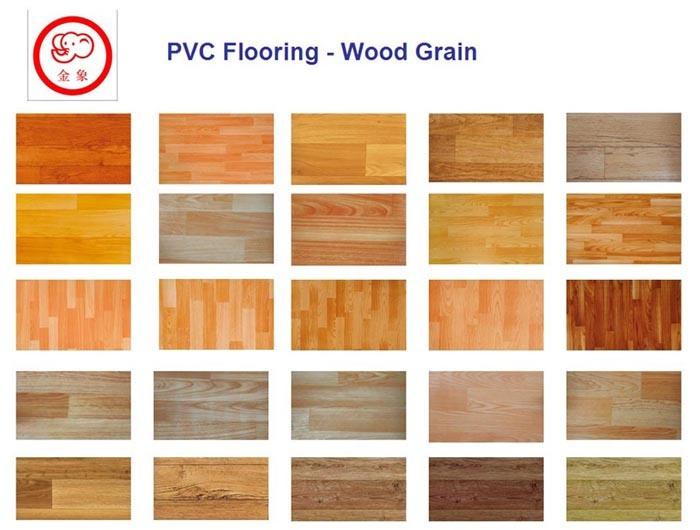China Wood Grain Royal Vinyl Floor China Pvc Flooring
