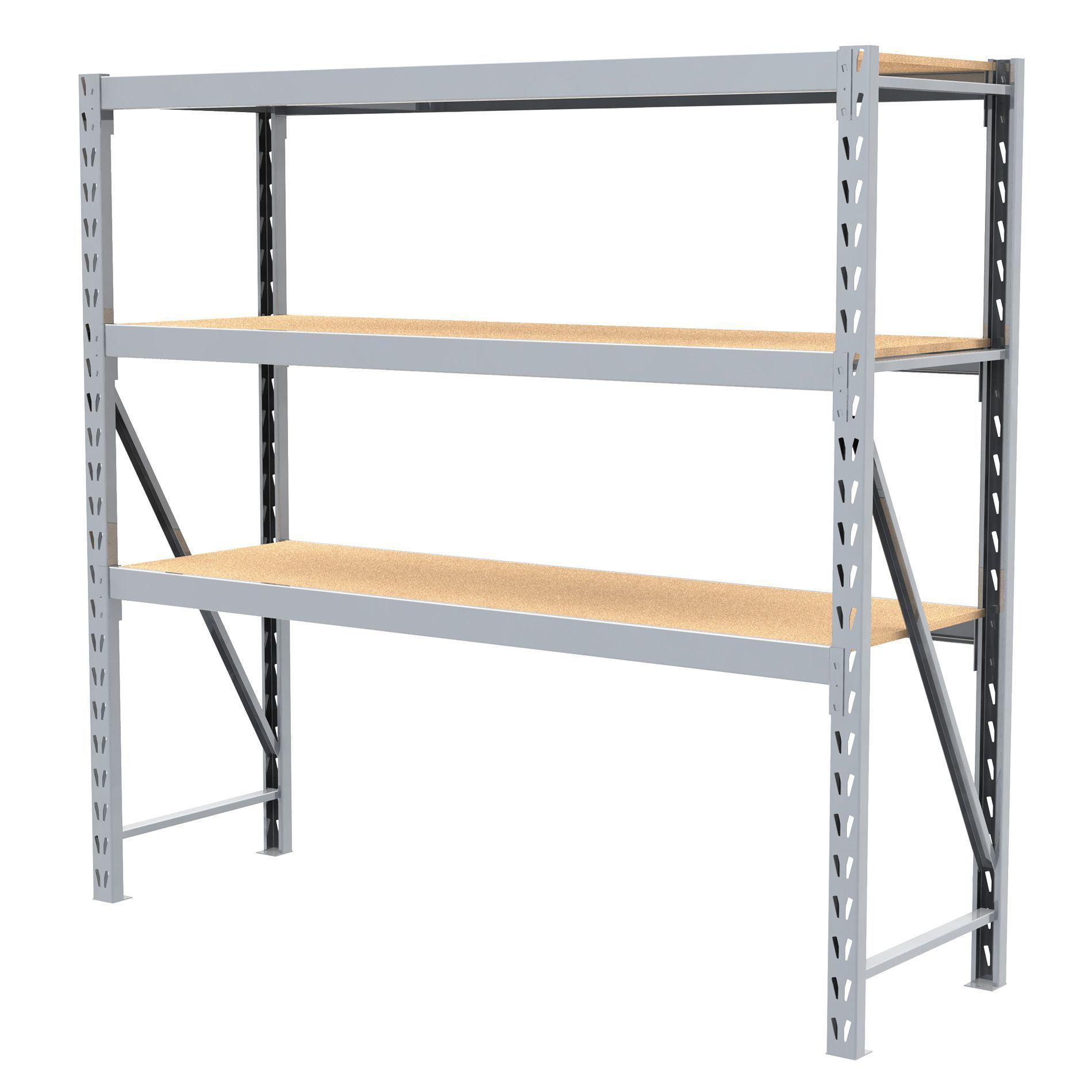 costco metal adjustable warehouse storage metal steel shelving rack