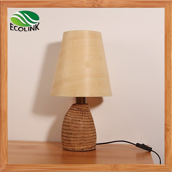 Natural Wooden Table Lamp / Desk Lamp / Reading Lamp