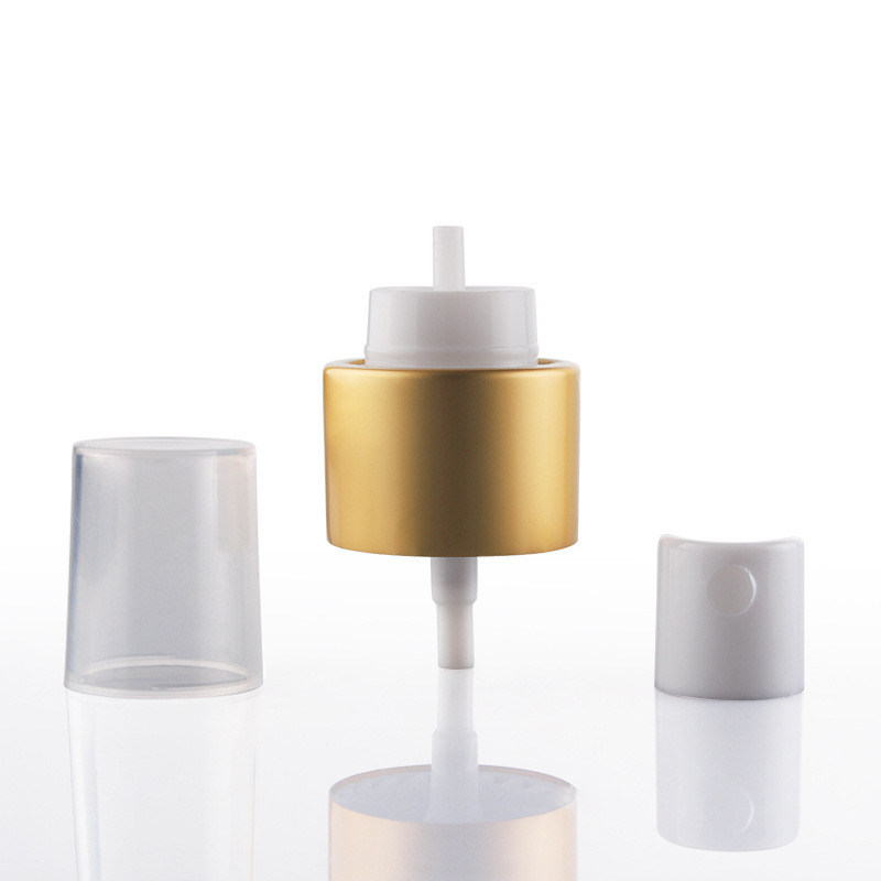 Gold Color Fine Mist Sprayer for Cosmetic Pump Sprayer (NS78)