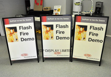 a Frame Sidewalk Signs Portable Sidewalk Curb Sign Frames and Affordable Sign