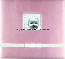 "12""X12"" Silk Fabric Scrapbook Album for Baby"