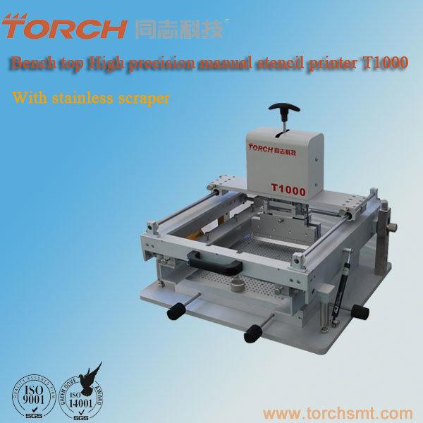 Manual Stencil Printert1000/Screen Printer/SMD Screen Printer