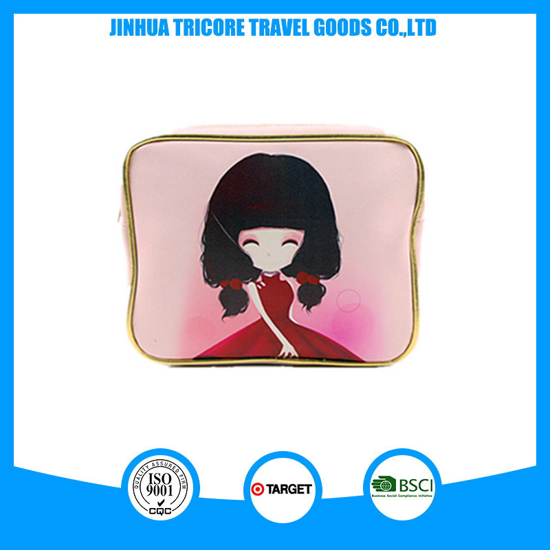 New Designer Customized Printed PU Cosmetic Bags