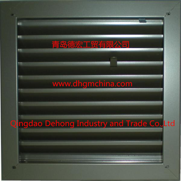 Aluminum Waterproof Air Vent Louver/HVAC Air Condition Louver